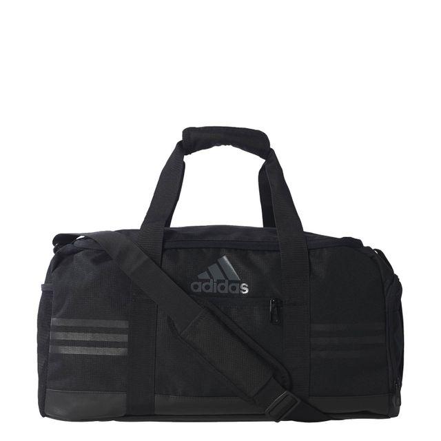 98808e6bb1 Adidas - Sac De Sport Teambag 3 Stripes S Noir - pas cher Achat ...