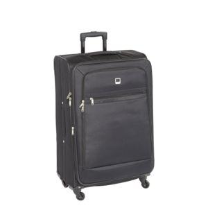 Carrefour prestige valise 4 roues 68 cm noir for Table valise carrefour