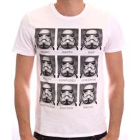 Cotton Division - Tshirt homme Star Wars - Trooper emotions