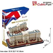 Cubicfun - Puzzle 72 PiÈCES - Puzzle 3D - Londres : Buckingham Palace DIFFICULTÉ : 7/8, Da-20162