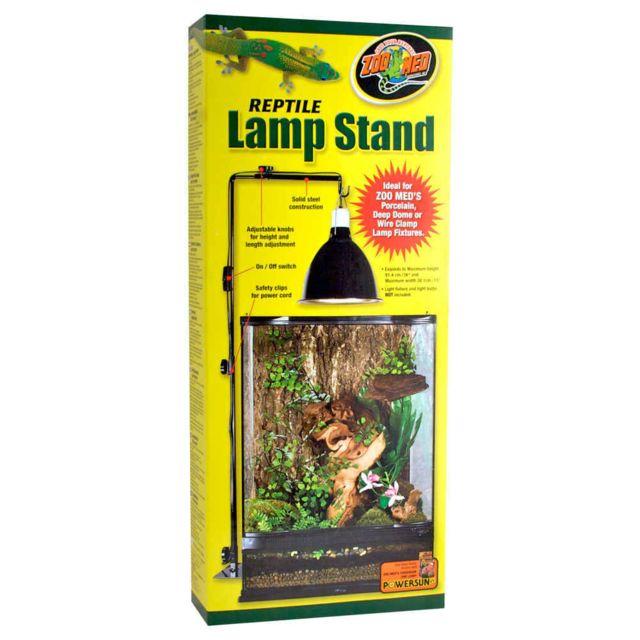 Zoomed Support de Lampe sur Pied Réglable Lamp Stand pour Terrarium 97cm