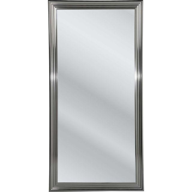 Karedesign Miroir Frame argenté 180x90cm Kare Design