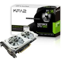 KFA2 - GeForce GTX 1060 EXOC White - 3Go