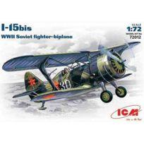 Icm - Polikarpov I-15BIS Avec Roues. Marquages Russes - Icm72012 Mic-72012