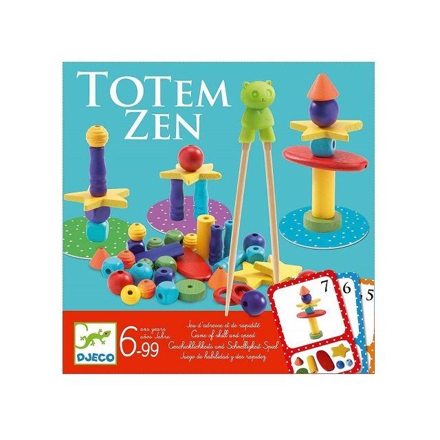 Djeco Totem Zen 2-4 joueurs Jeu d'adresse des 6 ans