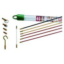 Super Rod - Crs6 Kit Tiges De Guidage Kit D'INSTALLATION Avec CÂBLE 6 M Et 6 Attaches
