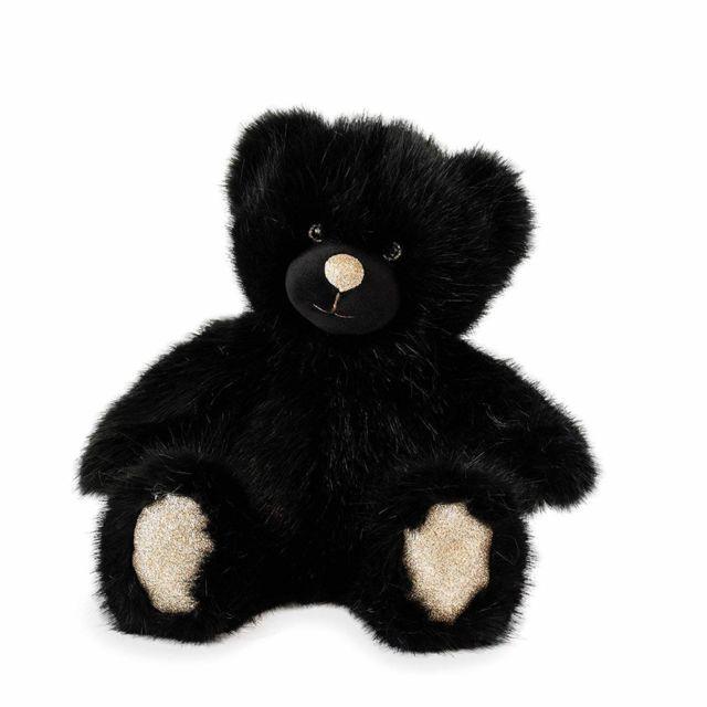 Doudou Et Compagnie Peluche ours 40 cm noir
