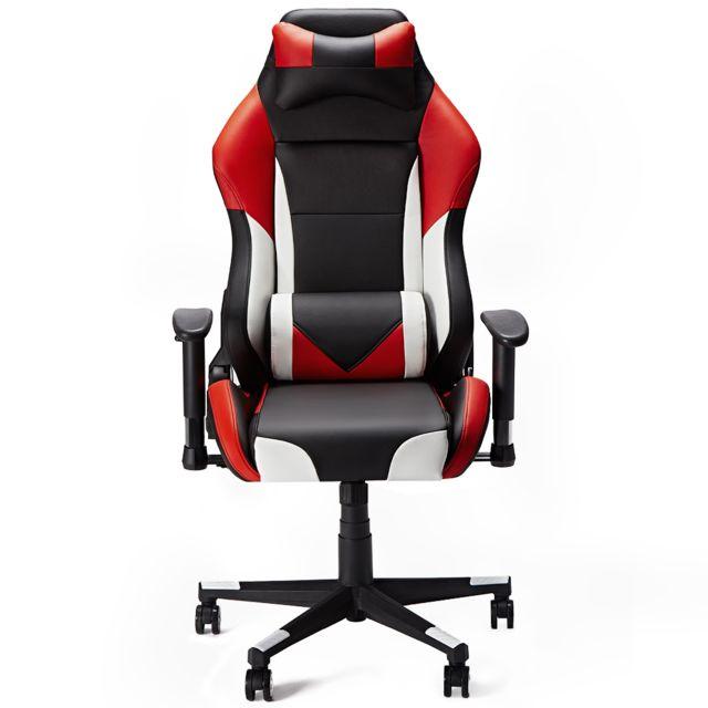 Rouge De Réglable Maison Jeu Gaming Siège Pour Gamer Bureau Chaise l51TJ3uFcK