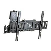 Ergotron - Sim90 Signage Integration Mount - Kit de montage fixation murale, attaches, support, support pour bloc d'alimentation , pour Écran Lcd - noir - Taille d'écran : à partir de 32 po - Interface de montage : 200 x 200 mm, 400 x 300 mm, 400 x 200 mm