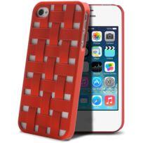 X-doria - Coque arrière pour iPhone 4/4S Engage Form - Rouge