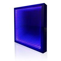 Creazur - Miroir 3D rétro éclairé Mirstar - 120x80 cm - avec interrupteur sensitif