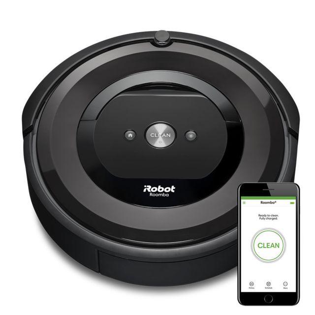 IROBOT Aspirateur robot Roomba e5 - E515840 - Noir