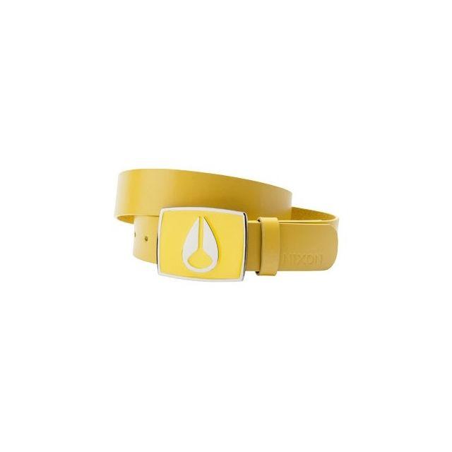 Nixon - Ceinture Enamel Icon Yellow Que de style Jaune - pas cher Achat    Vente Ceintures - RueDuCommerce 83ebacd9f70