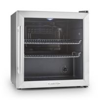 KLARSTEIN - Beersafe L Réfrigérateur 50 litres Classe A+ Porte en verre Acier