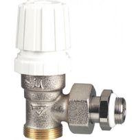 Rbm - Corps de robinet thermostatisable équerre - filetage 15x21