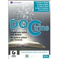 Afnor - Doctrine ; le guide pour réussir votre doctorat