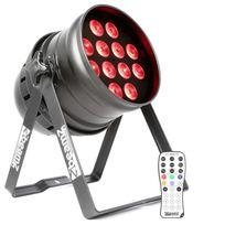 Beamz - Bpp220 Led Par 64 Projecteur lumière 18x 12W Led Xlr 4/8 x Dmx