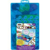 Cra-Z-Art - Jeux de société - Cra-Z-Loom : Coffret Création Recharge 1800 Elastiques
