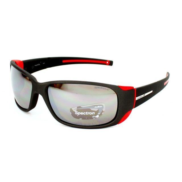 Julbo - MonteBianco J415 1222 Noir - rouge - Lunettes de soleil - pas cher  Achat   Vente Lunettes Tendance - RueDuCommerce 7c8a1520e31d