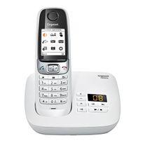 GIGASET - Téléphone C620A - Blanc