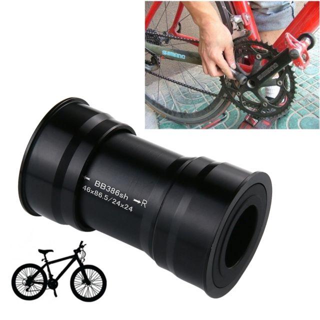 Jeu de P/édalier P/édaliers P/édalier BB386 24 mm Ajustement Serr/é Supports de P/édalier pour V/élo de Route