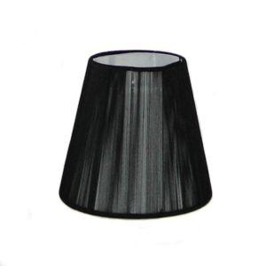 kosilum abat jour noir pour lustres nyala pas cher achat vente abats jour rueducommerce. Black Bedroom Furniture Sets. Home Design Ideas