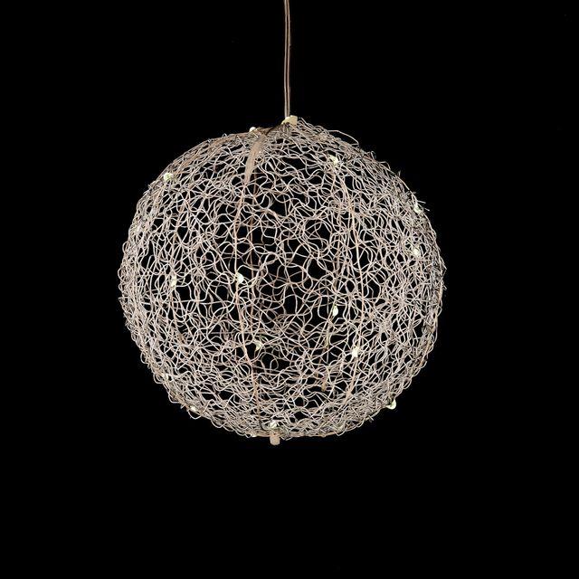Alinéa   Lumière de Noël Boule lumineuse à suspendre   D15cm   pas