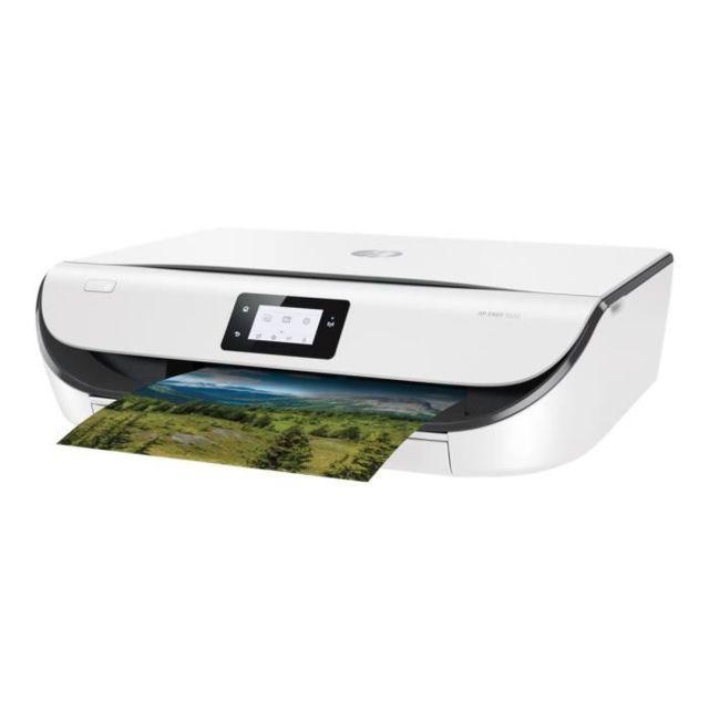HP Imprimante tout-en-un - 1 USB 2.0 - Wi-Fi - Blanc
