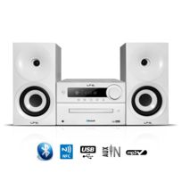 Ltc - Micro SystÈME Cdm100-WH 2x40W Tuner Fm/CD/BT/NFC