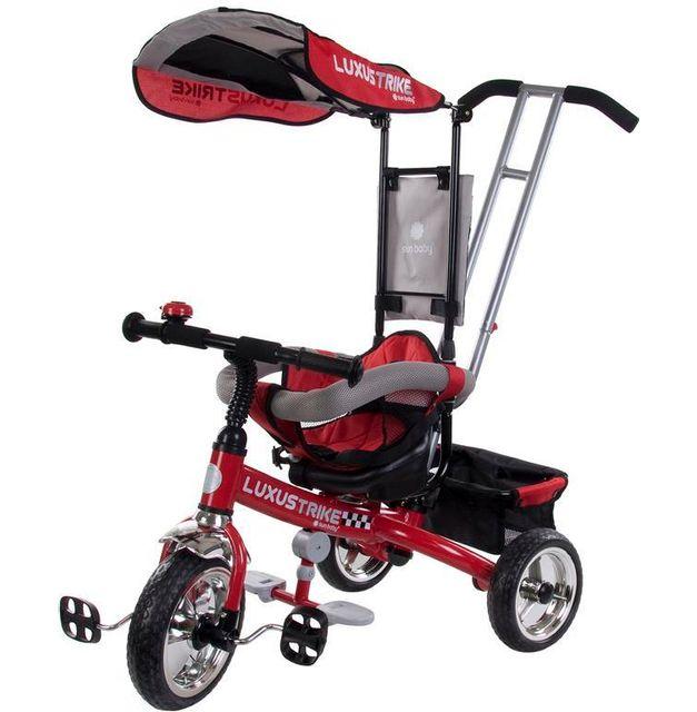 sun baby tricycle volutif b b luxus trike rouge. Black Bedroom Furniture Sets. Home Design Ideas