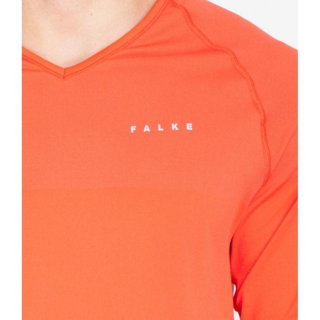 Falke T shirt de running H Running T shirt Sh38642RED