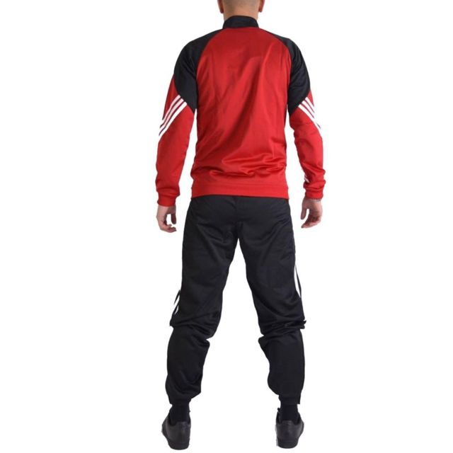 adidas jogging rouge homme