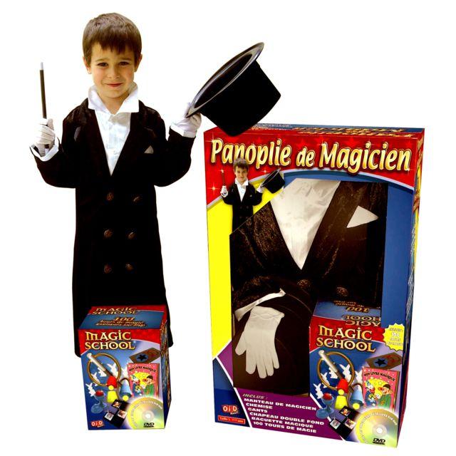 Megagic Magie : Panoplie de magicien 5/7 ans avec Dvd