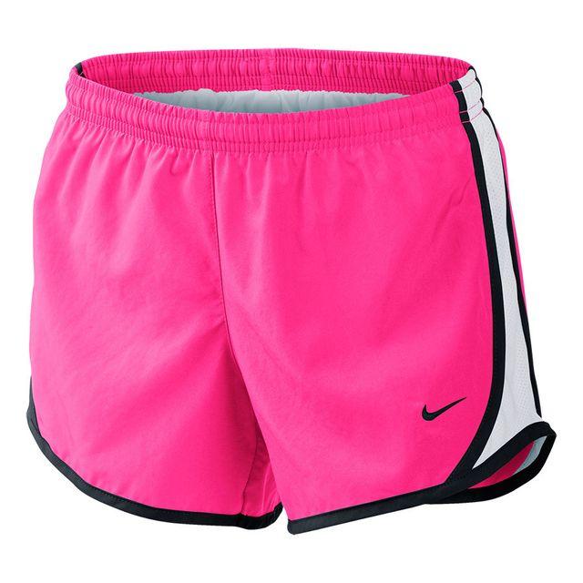 Nike - Short Tempo rose blanc fille - pas cher Achat   Vente Collants -  RueDuCommerce d922d368643