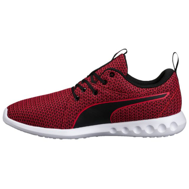 Puma Carson 2 Knit Chaussure Homme Taille 45 Rouge