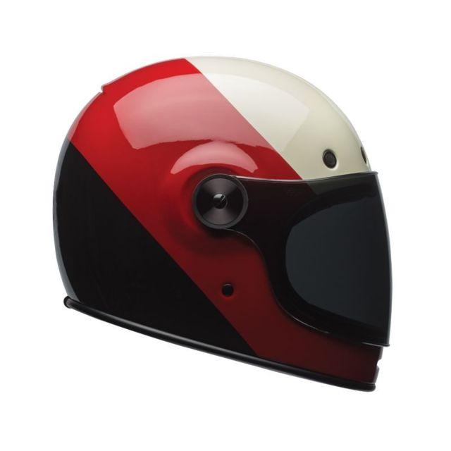 Bell - Casque Intégral Homme Bullitt tripl Noir/rouge/blanc