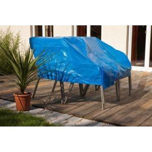 empasa b che de protection ext rieur avec oeillets bleu l300xh200cm pas cher achat vente. Black Bedroom Furniture Sets. Home Design Ideas