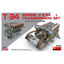 Mini Art - Maquette Char : Moteur V-2-34 du char soviétique T-34