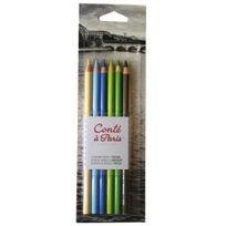 Conte A Paris - Blister 6 crayons pastel paysage