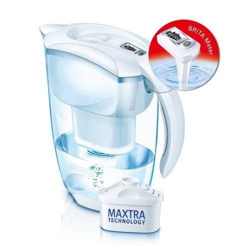 BRITA carafe filtrante 2,4l blanche + 1 cartouche maxtra - 1000814