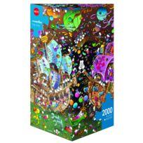 Amix - Puzzle 2000 pièces : The Kiss, Mordillo
