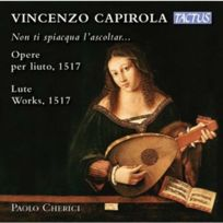 Tactus - Vincenzo Capirola - Oeuvres pour luth, 1517