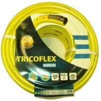 """Sirocco - Tricoflex 00110216 Tuyau D'ARROSAGE 1,3 Cm 0,5"""", 50 M Jaune"""