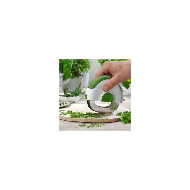 Microplane Hachoir Berceuse Blanc - Vert