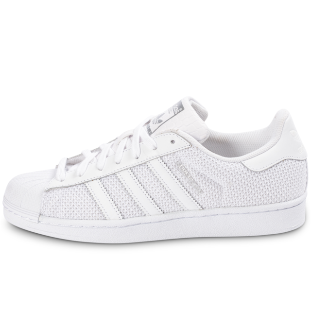 Adidas originals Superstar Nylon Blanche BasketsTennis