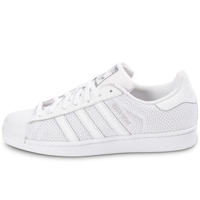 Adidas originals - Superstar Nylon Blanche