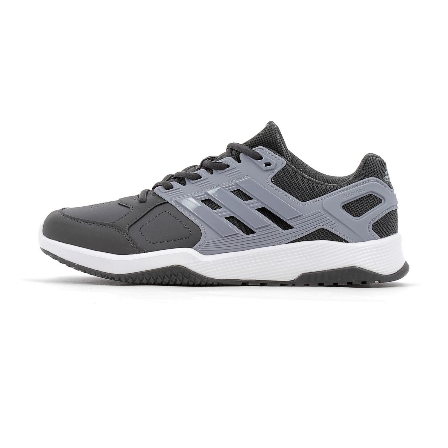 Adidas performance - Chaussures running Duramo 8 Trainer Gris - 45 1/3 - pas cher Achat / Vente Chaussures running