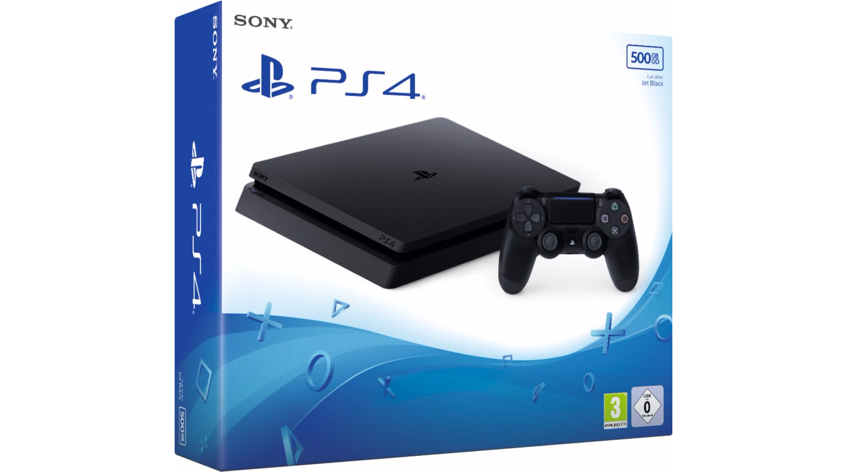 Console PS4 500 Go Chassis E Black Slim