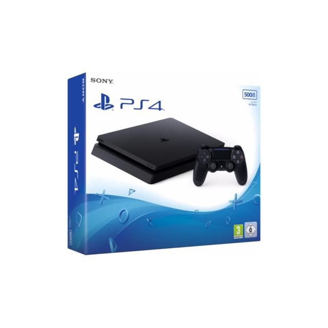 SONY - Console PS4 500 Go Chassis E Black Slim