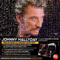 Warner Music - Johnny Hallyday : Flashback Tour inclus 2 Dvd + 3 Cd